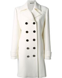 Gucci Double Breasted Coat - Lyst