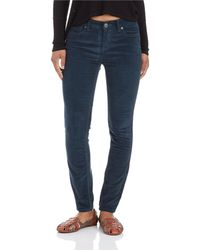 Free People Blue Hirise Cords - Lyst