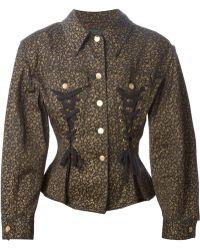 Jean Paul Gaultier Corset-Style Jacket - Lyst