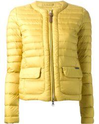 Woolrich Padded Jacket - Lyst