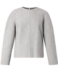 Alexander Wang Structured Cashmere Sweater - Lyst