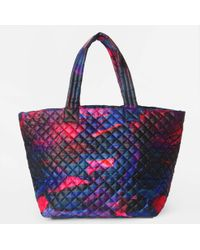 MZ Wallace Large Metro Tote Pink Lava Oxford pink - Lyst