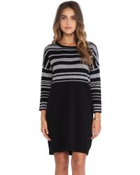 Duffy Black Sweater Dress - Lyst