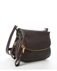 Tom Ford Wine Leather Jennifer Mini Messenger Bag - Lyst