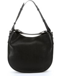 Givenchy Black Leather Obsedia Medium Hobo - Lyst