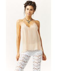 Cami Nyc The Racer Silk Cami - Lyst
