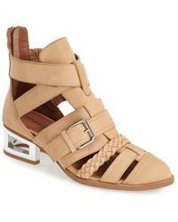 Jeffrey Campbell 'Levelup' Strappy Bootie - Lyst