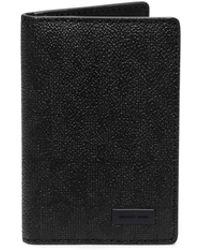 Michael Kors Logo-Print Bifold Wallet black - Lyst
