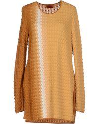 Missoni Sweater orange - Lyst