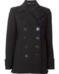 Gucci Black Classic Coat - Lyst