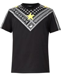 Givenchy Cuban-fit Star-print Cotton T-shirt - Lyst