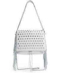 Ash - 'kimi' Leather Convertible Crossbody Bag - Lyst