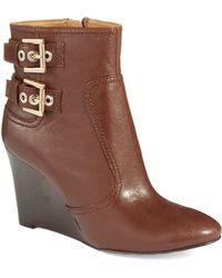 Nine West Herbert Wedge Boots - Lyst