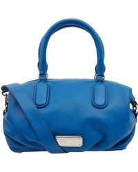 Marc By Marc Jacobs - Blue New Q Small Legend Cross Body Bag - Lyst