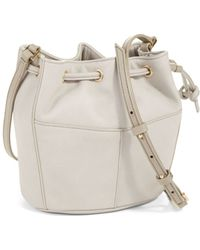 Cole Haan Felicity Leather Mini Bucket Bag - Lyst