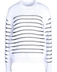 Alexander Wang Long Sleeve Sweater - Lyst
