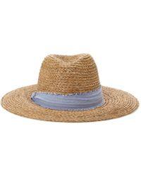 Hat Attack Raffia Sun Hat - Lyst