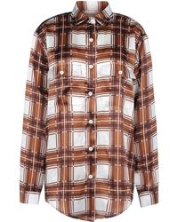 Rodarte Long Sleeve Shirt - Lyst