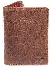 Will Leather Goods - 'twist' Leather Wallet - Lyst