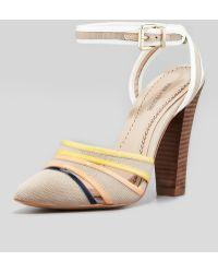 Pour La Victoire Kiran 2 Anklewrap Pump - Lyst