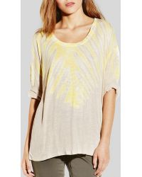 Two By Vince Camuto - Sunburst Tie Dye Tee - Lyst