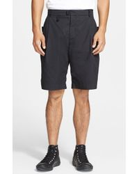 Alexander Wang Men'S Pleated Poplin Shorts - Lyst