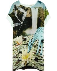 Emma Cook - Printed Silk Crepe De Chine Tunic - Lyst