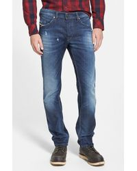 Diesel 'Belther' Slouchy Slim Fit Jeans blue - Lyst
