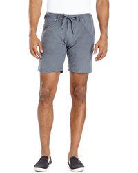 Diesel Kroo Beach Shorts gray - Lyst