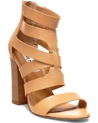 Steve Madden Cruizz Leather Strappy Sandals - Lyst