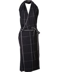 Christophe Lemaire Wrapped Dress - Lyst