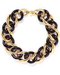 Kenneth Jay Lane Chain Link Choker Necklace - Lyst