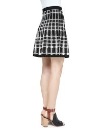 Nanette Lepore Series Plaid Aline Skirt - Lyst