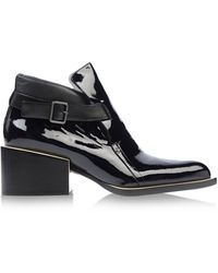 Jil Sander Ankle Boots - Lyst