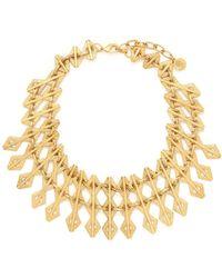 Ela Stone - Paloma Geometric Chain Necklace - Lyst