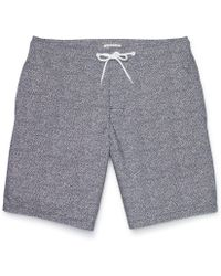 Club Monaco 9 Surf Short - Lyst