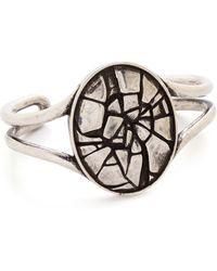 Pamela Love Ceres Cuff Bracelet - Brass - Lyst