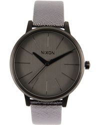 Nixon Gray Wrist Watch - Lyst