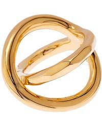 Robert Lee Morris - Twist Gold-Plated Ring - Lyst