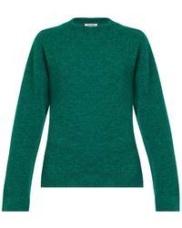 Jil Sander Double Cashmere-Blend Sweater - Lyst