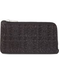 Loewe Logo Coin and Card Holder - Lyst