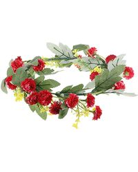 Topshop Pink Flower Hair Garland - Lyst