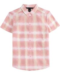 Marc By Marc Jacobs Cotton-Silk Printed Button-Down - Lyst