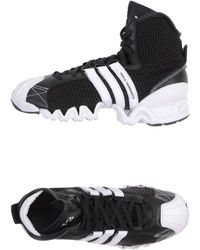 Y-3 High Tops  Trainers - Lyst