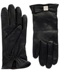 Kate Spade Bow Logo Glove - Lyst