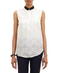 Band Of Outsiders Ombré Leopardprint Top - Lyst