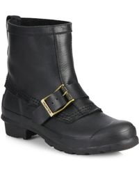 Hunter Original Biker Short Rain Boots - Lyst