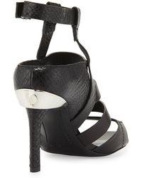 Prabal Gurung - Ankle Strap Open Toe Heel - Lyst