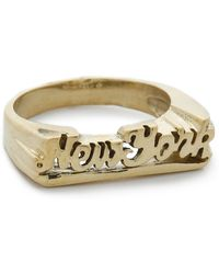Snash Jewelry - New York Ring - Gold - Lyst