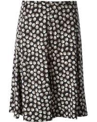 Diane Von Furstenberg Rosalita Printed Skirt - Lyst